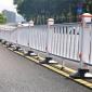 成都蓉锦 厂家批发 马路分流护栏 人行道与机非隔离栏