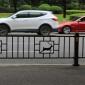 成都蓉锦 厂家批发 机非人行道交通设施隔离栏围栏