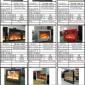 装修设计资料】伏羲壁炉、电壁炉、仿真壁炉、酒精壁炉尺寸数据6